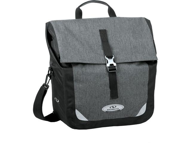 Norco Kinsley City KS Bike Bag tweed grey/black